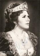 Bulgaria - Galina Savova (Autographed) - Varna - Opera - Music - Theater - Música - Teatro - Opera
