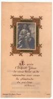 Image Religieuse - Gaufrée - Dorée - Saint-Nazaire 1921 - Marie Keruel - Confirmation - B. L. Paris 9016 - Plénitude - Devotion Images