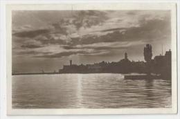 D623-LANGENARGEN-Partiele Ansicht - Sommerabend-1930 - Langenargen
