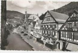 D645WOLFACHMarkt Mit Rathaus-1957 - Wolfach