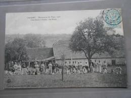 LANGRES MANOEUVRE DE SIEGE 1906 L ARTILLERIE A BUZON - Langres