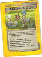 Pokemon N° 136/147 - Dresseur - Volontaires De La Ville - Pokemon