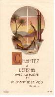 Image Religieuse - Chantez à L'Eternel Avec La Harpe Et Le Chant De La Voix - PS-98-V - LB 45 - Boumard Fils Paris - Devotion Images