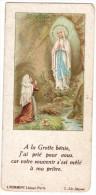 Image Religieuse De Prêtre - Prière - Vierge Sainte - Abbé Perreyre - L. Pommepy Edit. Paris C-331 Déposé - Images Religieuses