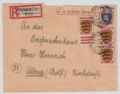 """Franz. Zone, Reco-Bf. """" Dornstetten (Kr. Freudenstadt) """" , #3046 - Französische Zone"""