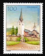 ÖSTERREICH 2010 **  Uhr, Clock - Pfalzkirche Karnburg In Kärnten - MNH - Uhrmacherei