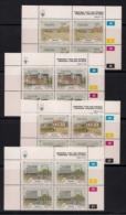 NAMIBIA, 1990, MNH Control Blocks Stamps, Windhoek, M 675-678, - Namibia (1990- ...)
