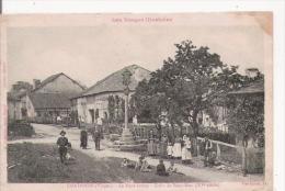 CHATENOIS (VOSGES) LE HAUT BOURG CROIX DE SAINT MARC (XV E SIECLE) BELLE ANIMATION 1917 - Chatenois
