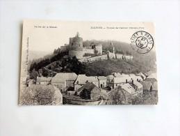 Carte Postale Ancienne :HIERGES : Ruines De L' Ancien Chateau-Fort , En 1909 - Francia