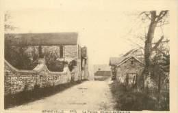"""/ CPA FRANCE 78 """"Senneville, La Ferme, Chemin De Boinville"""" - Otros Municipios"""