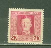 Autriche Hongrie  Feldpost  Michel   69  B  *   TB   dent  11.5