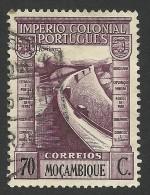 Mozambique, 70 C. 1938, Scott # 280, Used - Mozambique