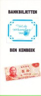 """Uitg.: Postgiro Rijkspostspaarbank 1983 - """"Bankbiletten"""" - Ben Kenbeek - Leuk - [2] 1815-… : Koninkrijk Der Verenigde Nederlanden"""