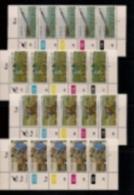 CISKEI, 1982, MNH Control Strip Stamps,Pineapple Industry M 26-29 - Ciskei