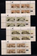 CISKEI, 1983, MNH Control Block Stamps,Educational Institutes, M 43-46 - Ciskei