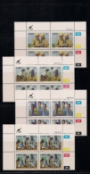 CISKEI, 1985, MNH Control Block Stamps, Girl Guides,  M 75-78 - Ciskei