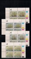 CISKEI, 1985, MNH Control Block Stamps, Troop Ships,  M 83-86 - Ciskei