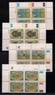 CISKEI, 1987, MNH Control Block Stamps, Homemade Toys,  M 119-122 - Ciskei