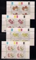 CISKEI, 1988, MNH Control Block Stamps, Protected Plants,  M 127-130 - Ciskei