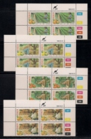 CISKEI, 1988, MNH Control Block Stamps, Citrus Farming,  M 141-144 - Ciskei