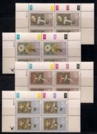 CISKEI, 1988, MNH Control Block Stamps, Poisonous Fungi,  M 145-148 - Ciskei