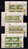 CISKEI, 1989, MNH Control Block Stamps, Dams,  M 149-152 - Ciskei