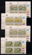 CISKEI, 1989, MNH Control Block Stamps, Trout Hatcheries,  M 153-156 - Ciskei