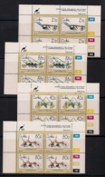 CISKEI, 1990, MNH Control Block Stamps, Agricultural Implements,  M 175-178 - Ciskei