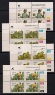 CISKEI, 1990, MNH Control Block Stamps, Edible Wild Fruit,  M 179-182 - Ciskei