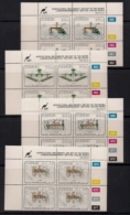 CISKEI, 1992, MNH Control Block Stamps, Agricultural Implements,  M 220-223 - Ciskei
