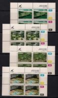 CISKEI, 1992, MNH Control Block Stamps, Hotels,  M 224-227 - Ciskei
