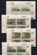 CISKEI, 1994, MNH Control Block Stamps, Shipwrecks,  M 247-250 - Ciskei