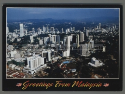 U5755 GREETINGS FROM MALAYSIA ExtraGrande (tur) - Malesia