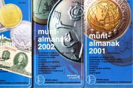 3 Stuks Oude Muntalmanank 2001 -2002 En 2005 (3) - Nederland