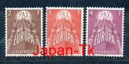 LUXEMBURG Mi.Nr. 572-574 Europa CEPT- 1957- MNH - Europa-CEPT