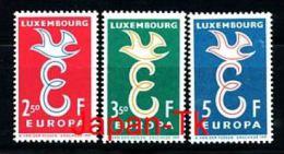 LUXEMBURG Mi.Nr. 590-592 Europa CEPT- 1958- MNH - 1958
