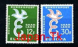 SAARLAND Mi.Nr. 439-440 Europa CEPT- 1958- MNH - 1958