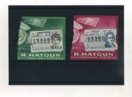- FRANCE . 1/2 BILLETS LOTERIE NATIONALE 1963 - Lotterielose