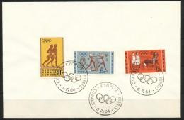 Zypern     Mi.Nr.    237 - 239   -     FDC - Zypern (Republik)