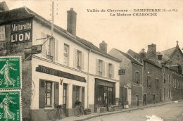 Vallee De Chevreuse DAMPIERRE LA MAISON CHABOCHE CARTE TRES RARE ETAT CF SCAN - Other Municipalities