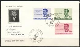 Zypern     Mi.Nr.    247 - 249    -     FDC - Zypern (Republik)