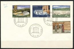 Zypern     Mi.Nr.    233 -  236      -     FDC - Zypern (Republik)