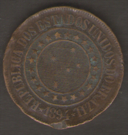 BRASILE 40 REIS 1894 - Brasile