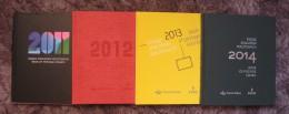 Poland, Polen 2011-2014 - Books Of Postage Stamps, With A Complete Set Stamps, MNH, - Volledige Jaargang