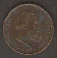 BRASILE 20 REIS 1868 - Brasile