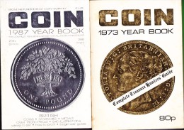 COIN Various YEARBOOKS - See List - Coins