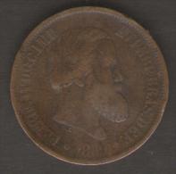 BRASILE 20 REIS 1869 - Brasile