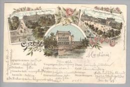 AK De He LEIPZIG 1898-03-10 Litho Rosenthal #2160 - Leipzig