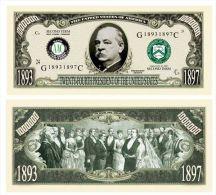 Billet de collection USA P-24 President Cleveland Million Dollars Paper Money Collector unc