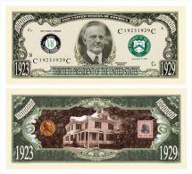 Billet de collection USA P-30 President Coolidge Million Dollars Paper Money Collector unc
